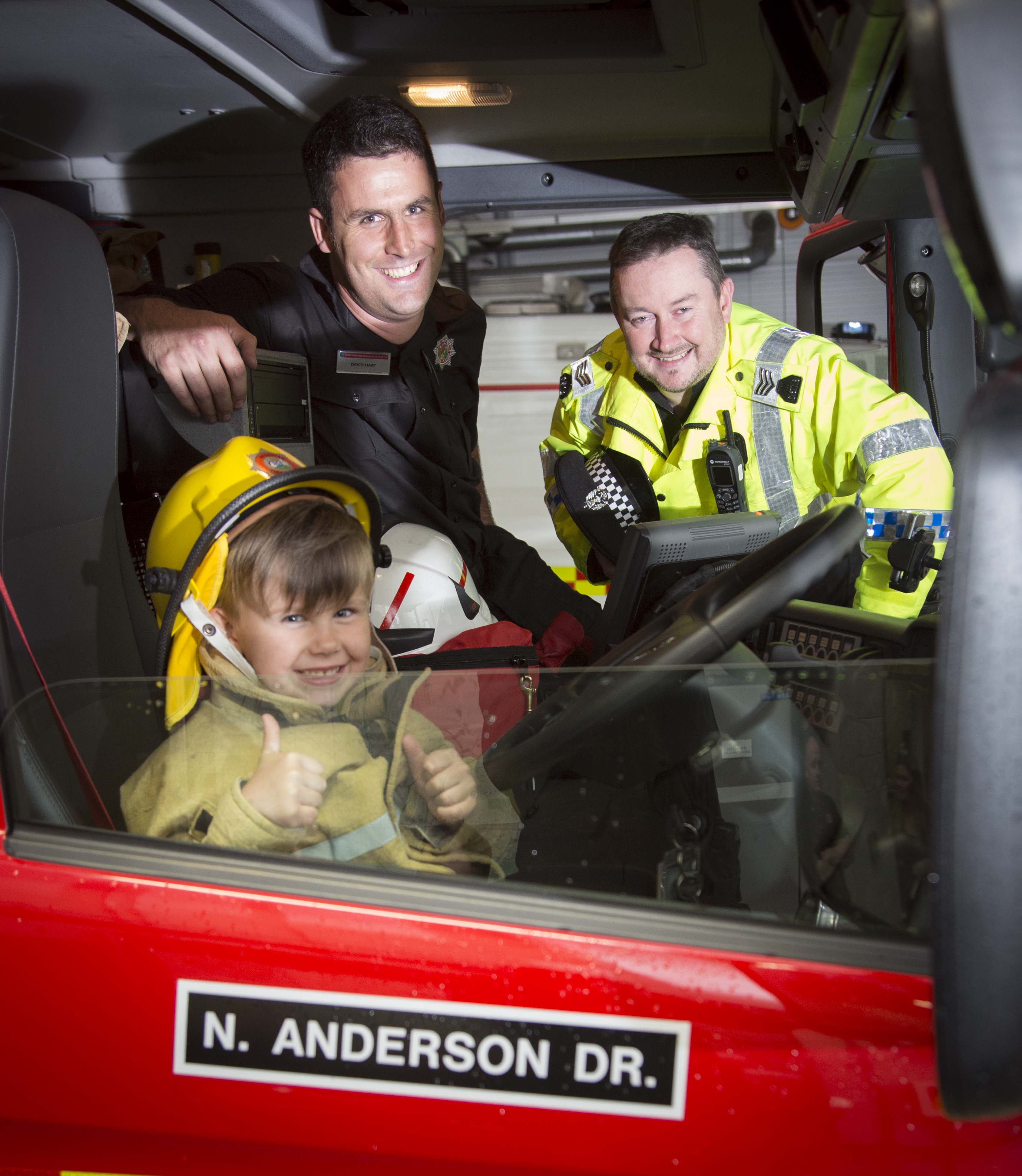 Five-year-old boy donates pocket money to crews who battled major Aberdeen fire
