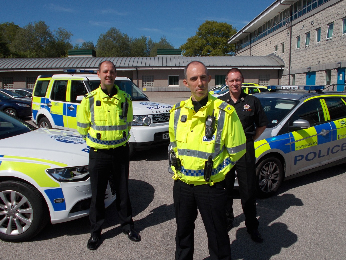 SFRS support new road safety operation in Aberdeenshire and Moray