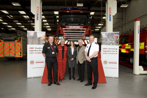 SFRS investment in the north's Asset Resource Centre, Inverness