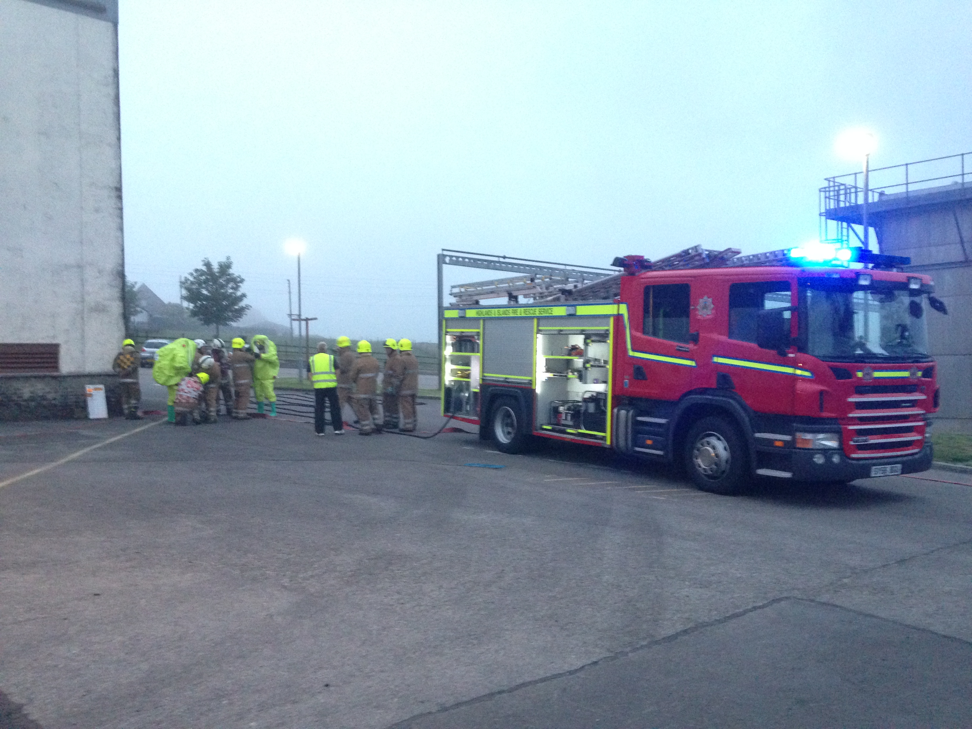 SFRS dealt with chemical incident at distillery in Brora