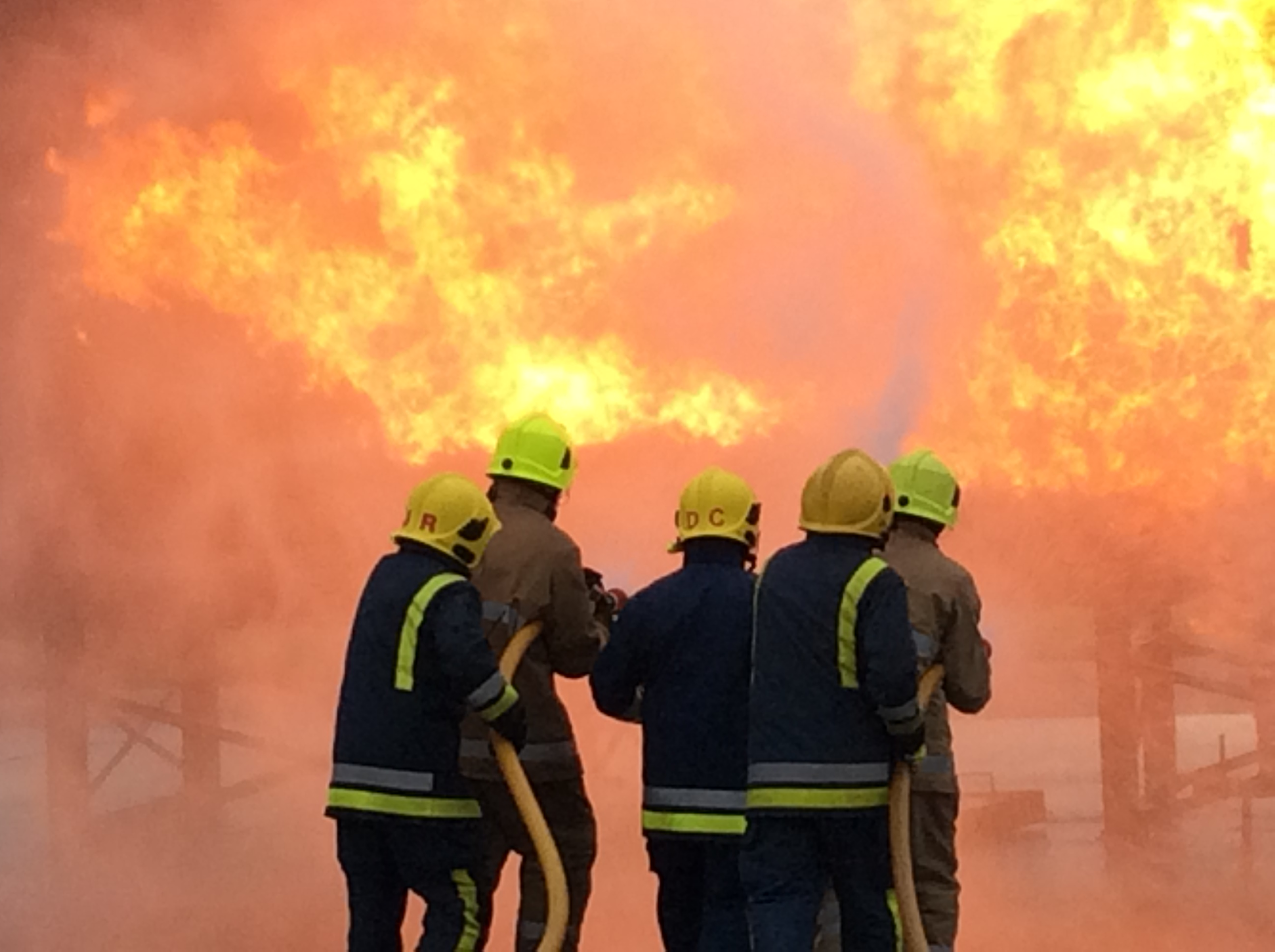 Fire board member sees partnership in action at Wick Airport fire event