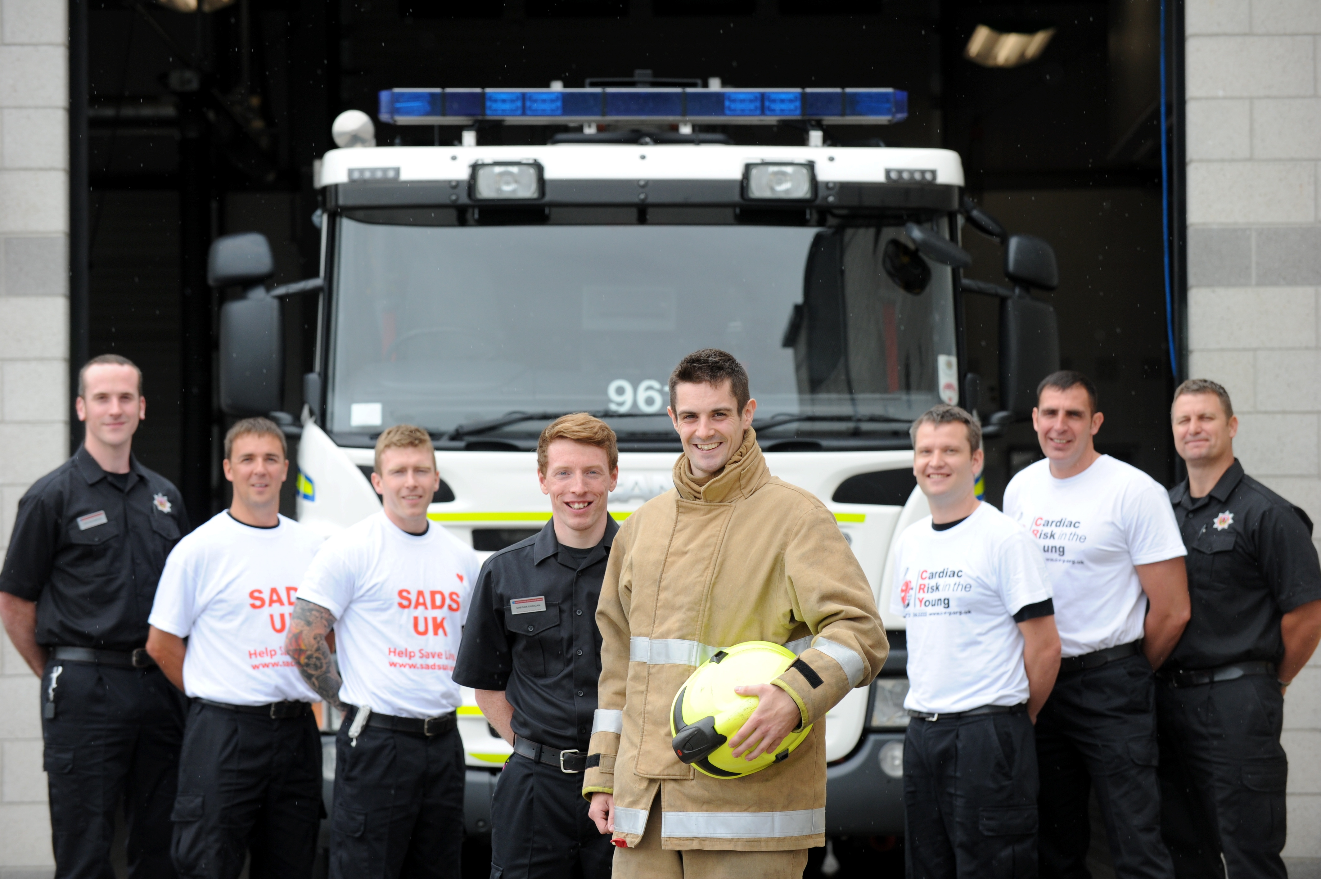 Firefighters taking on 3 peaks challenge for charity