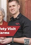 Home Fire Safety Visit postcard