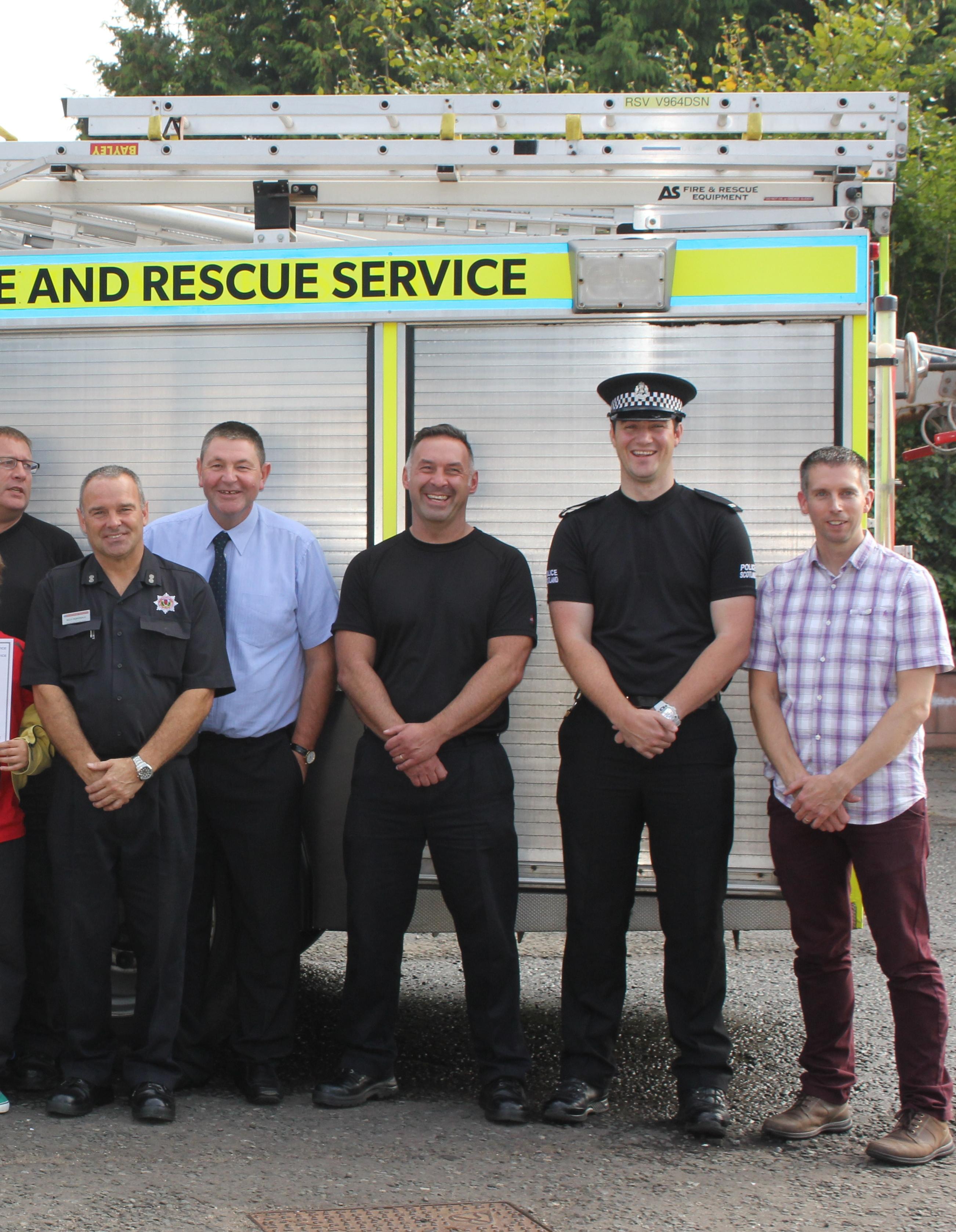 Fire Academy hailed a success in Angus