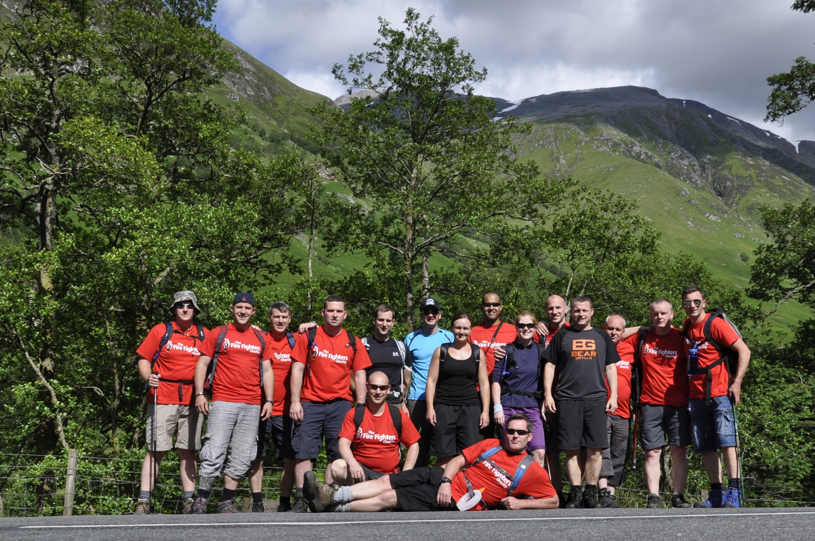 Dundee Crew scale the heights and raise over £3000 for charity