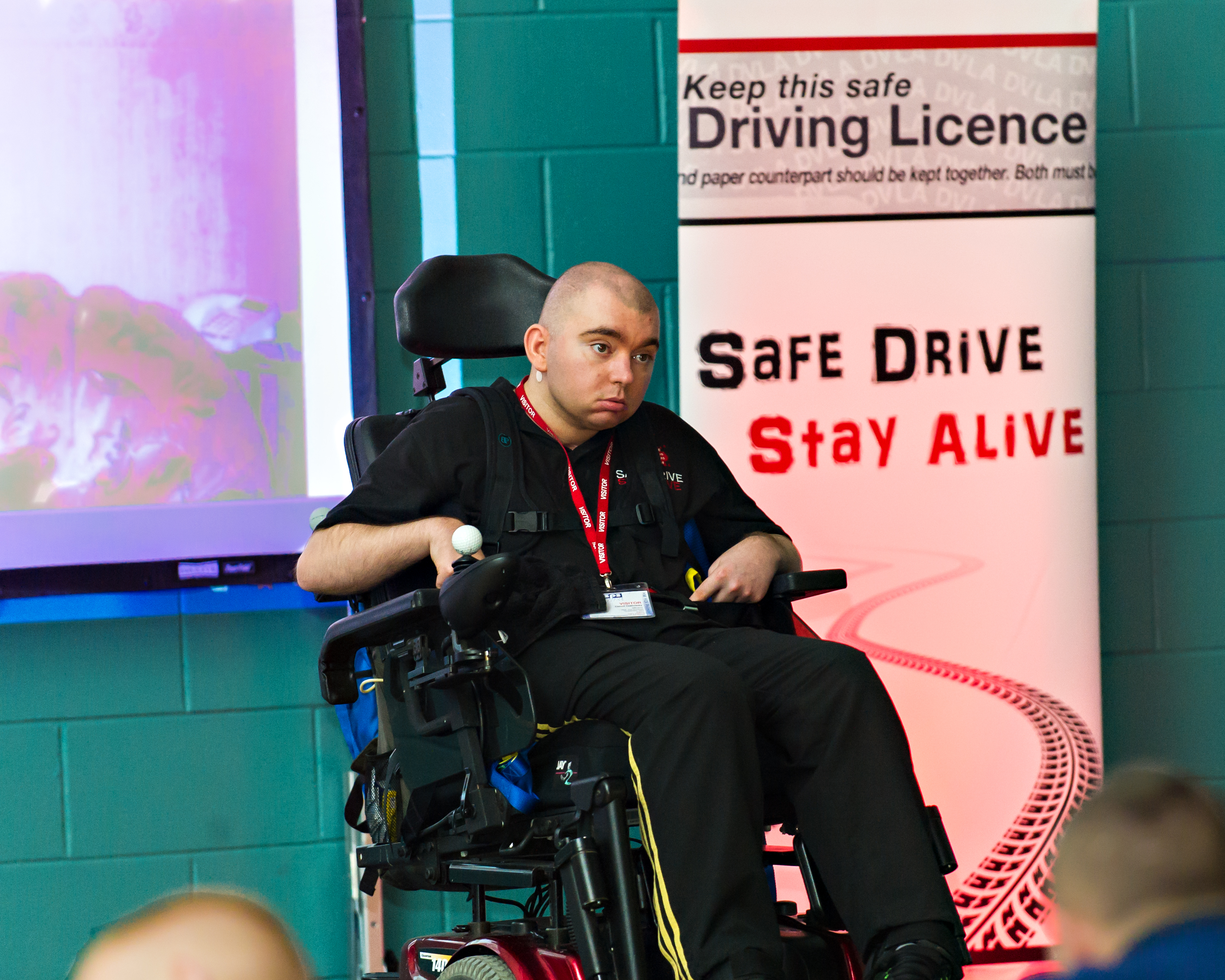 Safe Drive Stay Alive at HMYOI Polmont