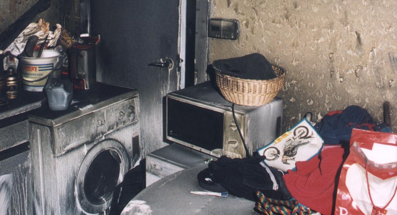 Kitchen fire in Perth