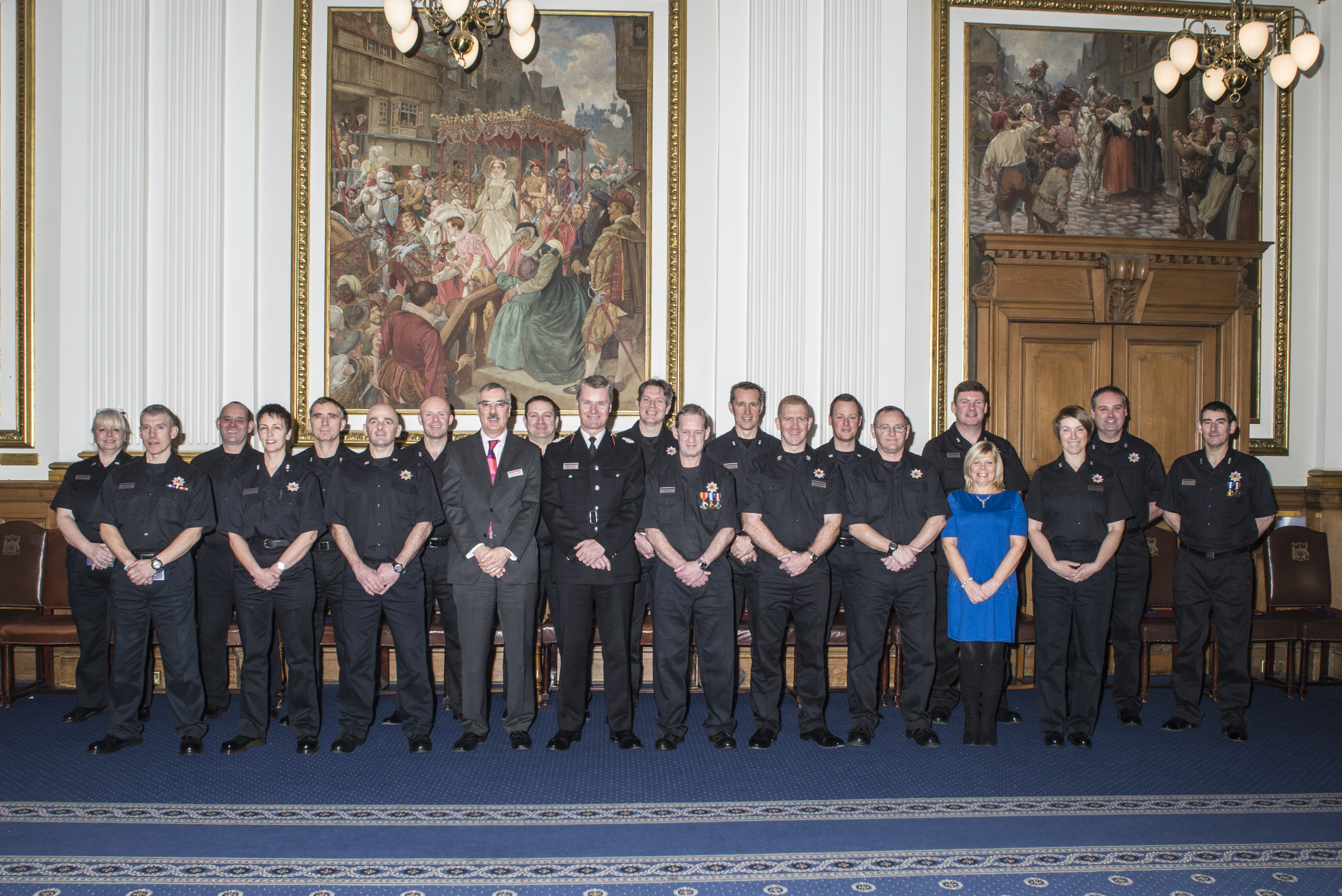Long Service Medals awarded to officers in East of Scotland