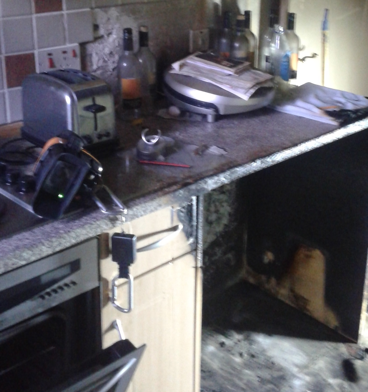 Crews attend kitchen fire in Alloa