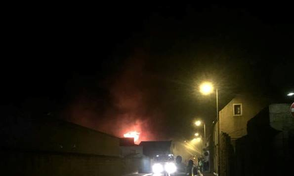 Update on fish factory fire in Peterhead