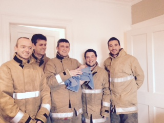 Firefighters help deliver baby in Stonehaven