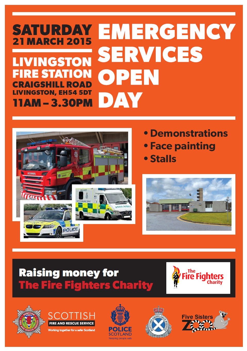 Livingston fire station Open Day