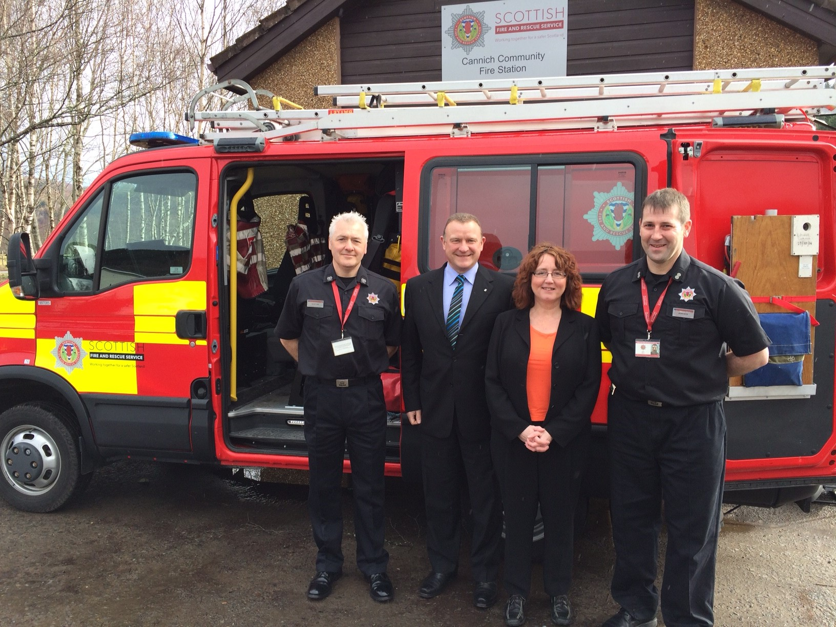 SFRS investment in rural station at Cannich and appeal to men and women to join as retained