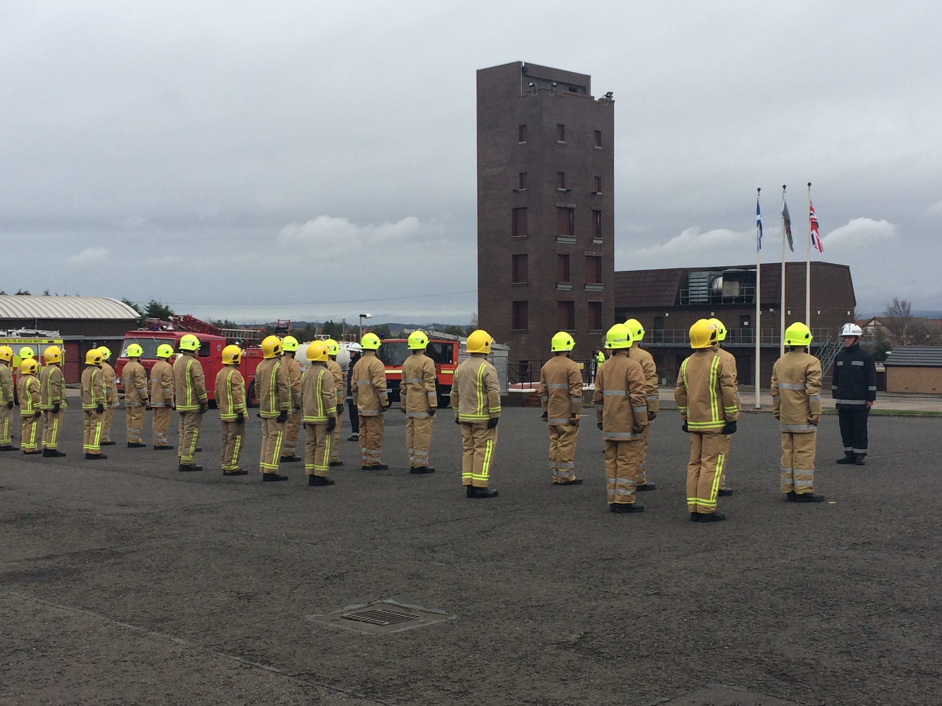 SFRS College Gullane runs its last course
