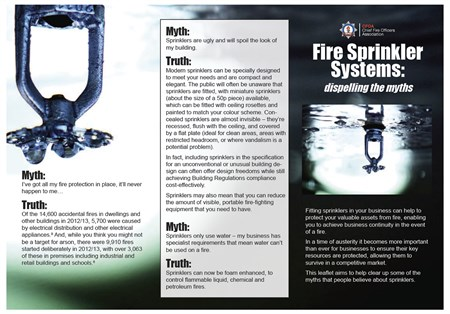 CFOA Sprinkler Graphic