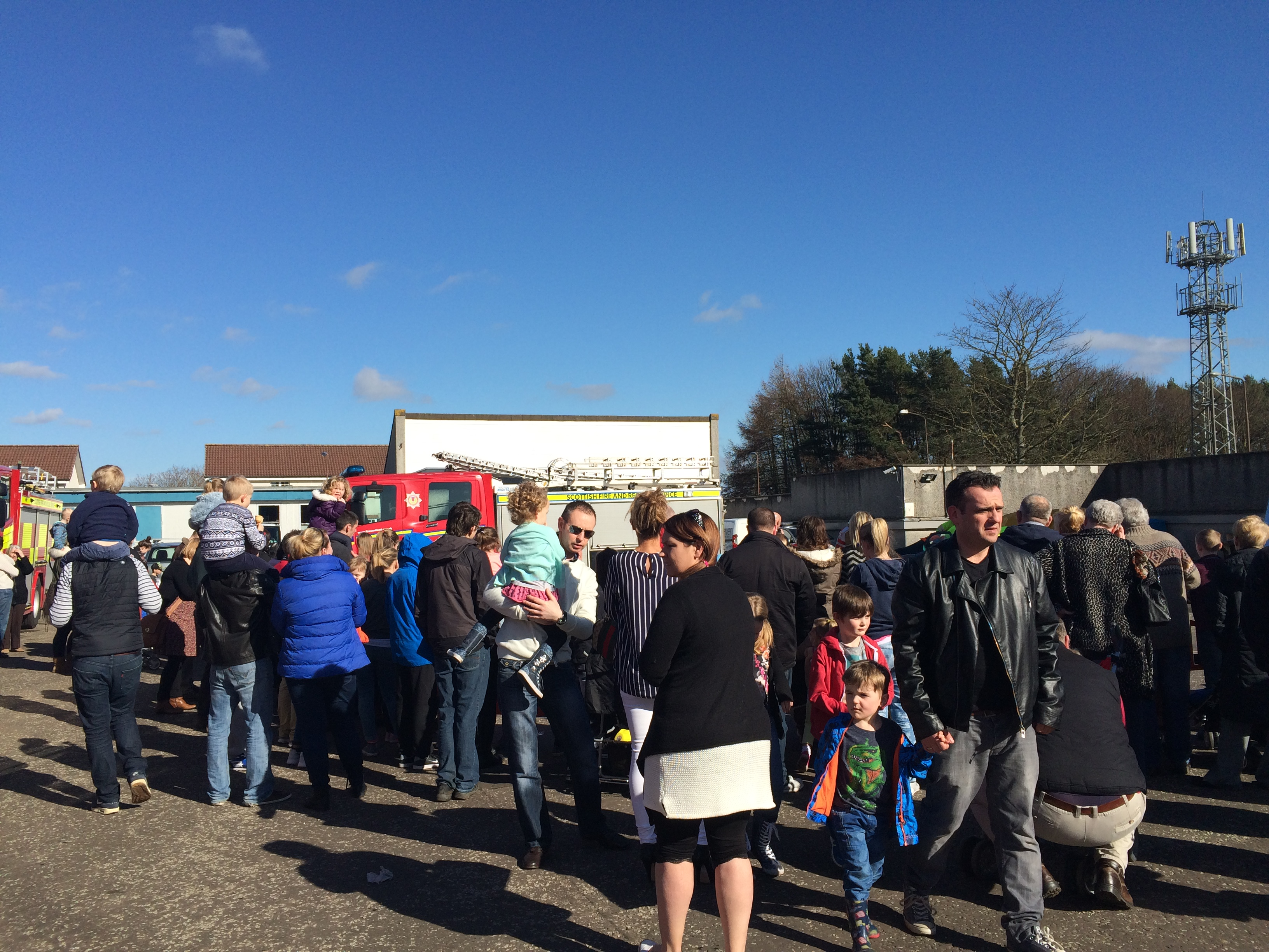 Livingston fire station open day success