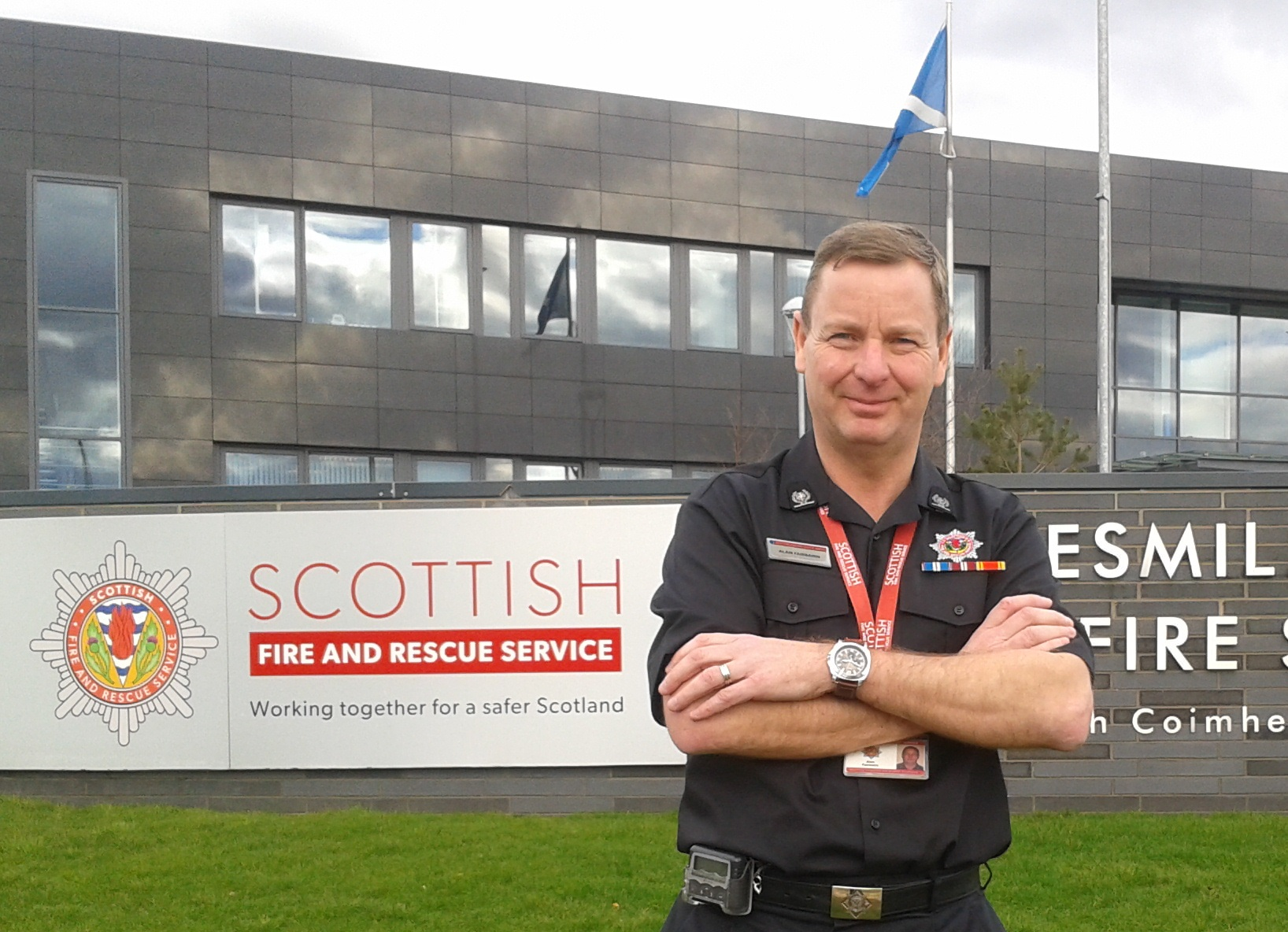 SFRS confirms appointment of South Lanarkshire's local senior officer