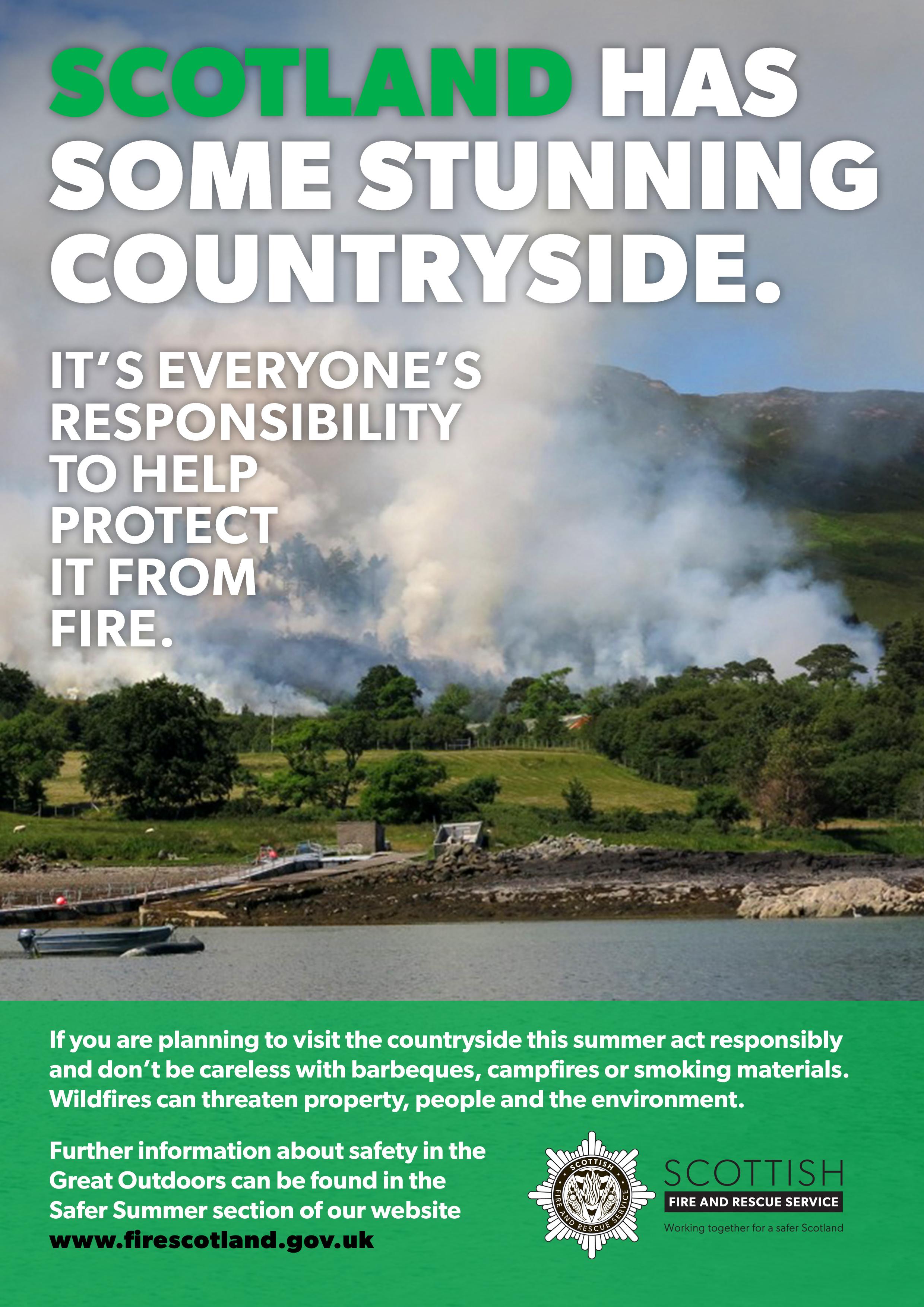 Crews tackling gorse fire at Daviot Wood, near Inverness