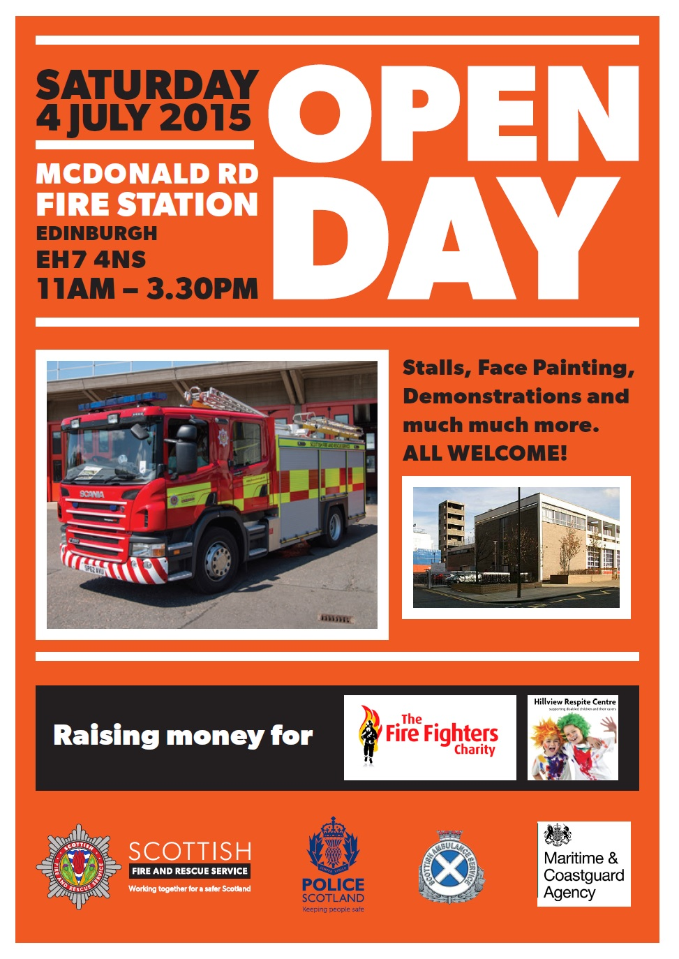 McDonald Road Open Day