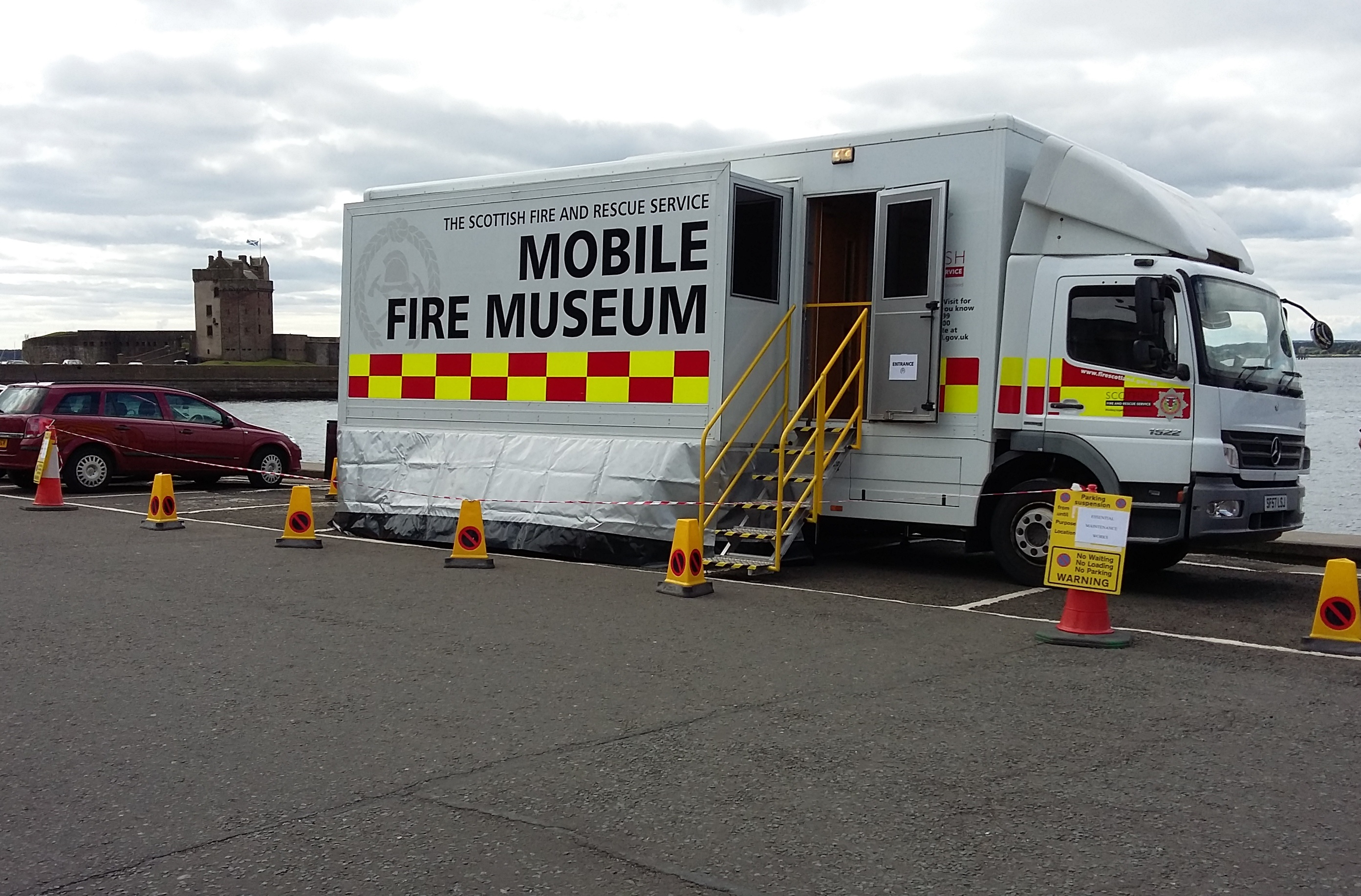 SFRS mobile museum popular attraction at Broughty Ferry Gala Day