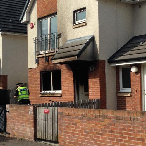 SFRS responded to house fire in Dundee