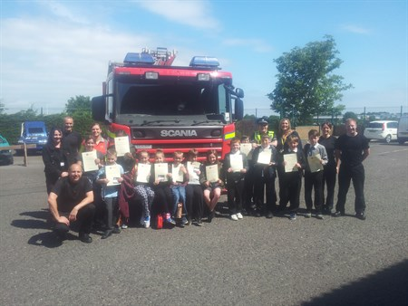 Dundee Multi -agency Event - Youngsters 2