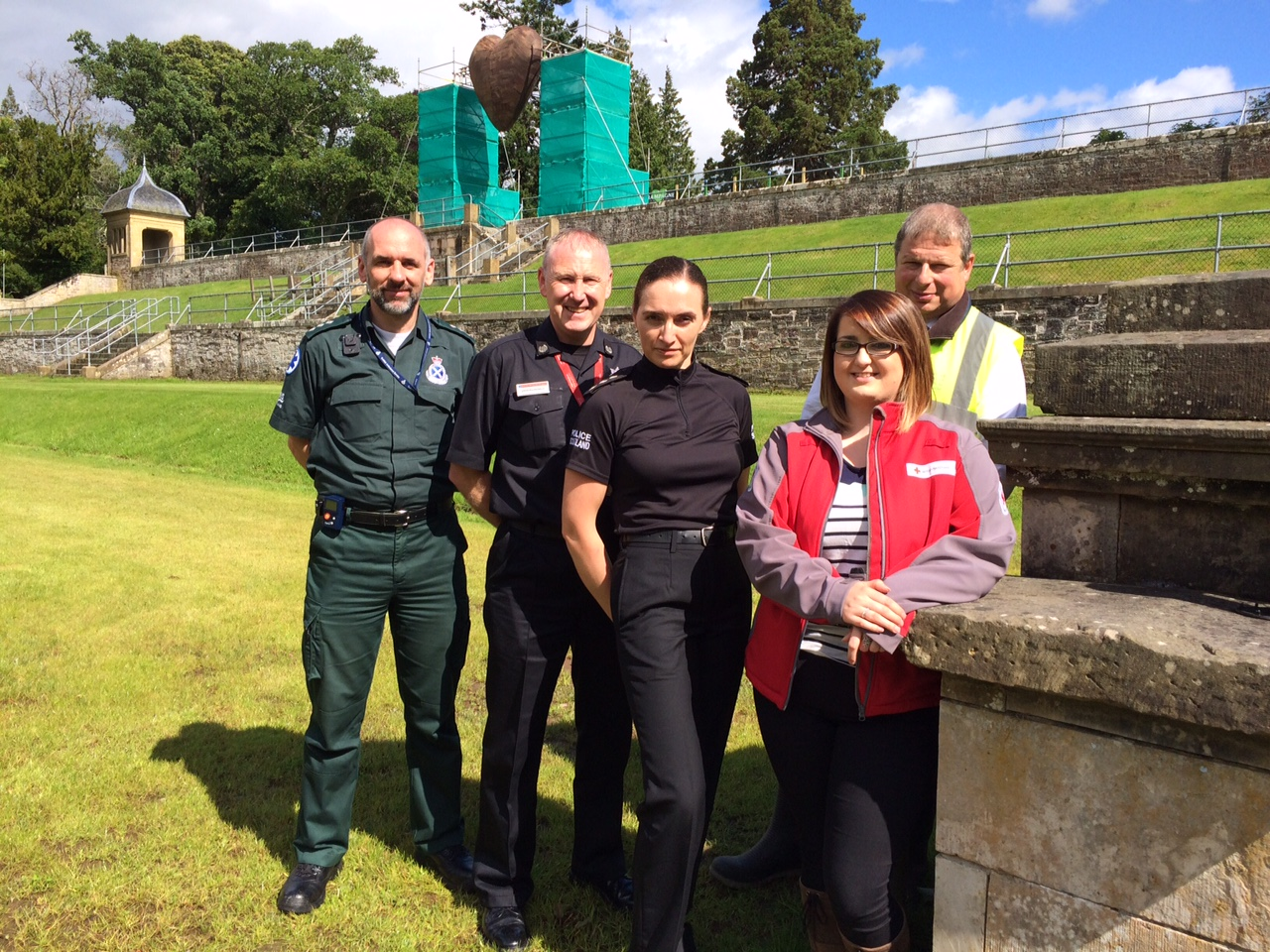 Multi-agency partners want revellers to enjoy a safe 2015 Belladrum Festival