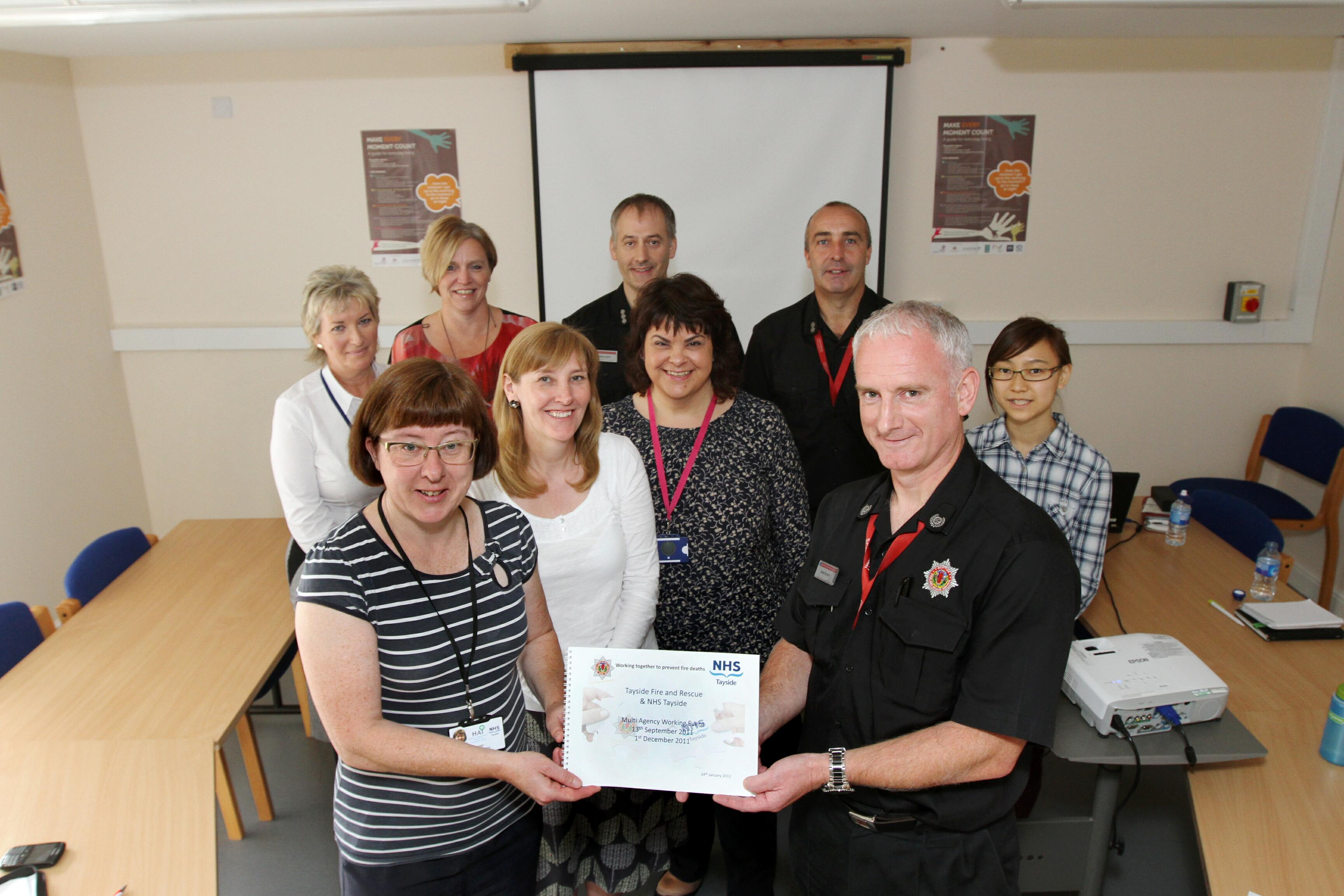 New Dundee partnership module aims to protect vulnerable from fire