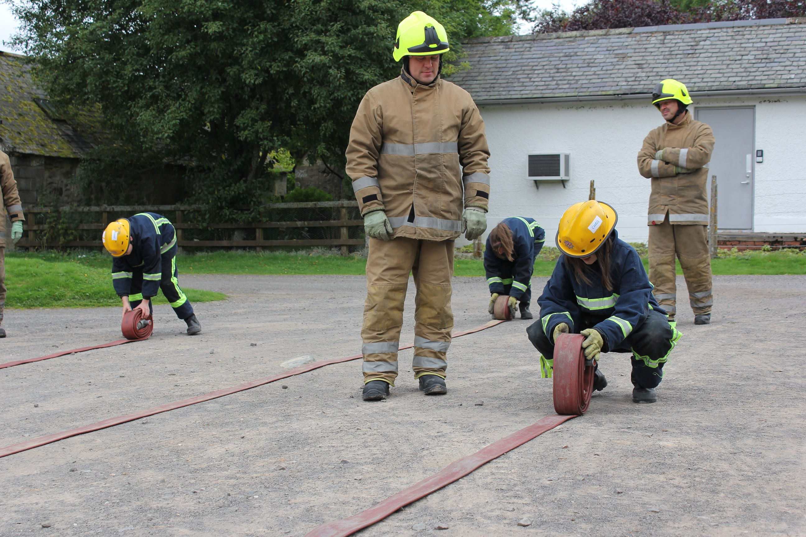 SFRS and partners run successful Fire Academy for young people in Angus