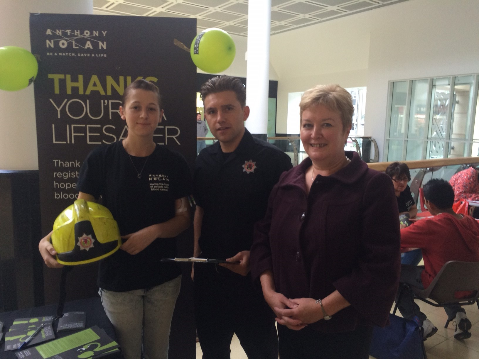 SFRS and MSP back Anthony Nolan bid to recruit new stem cell donors