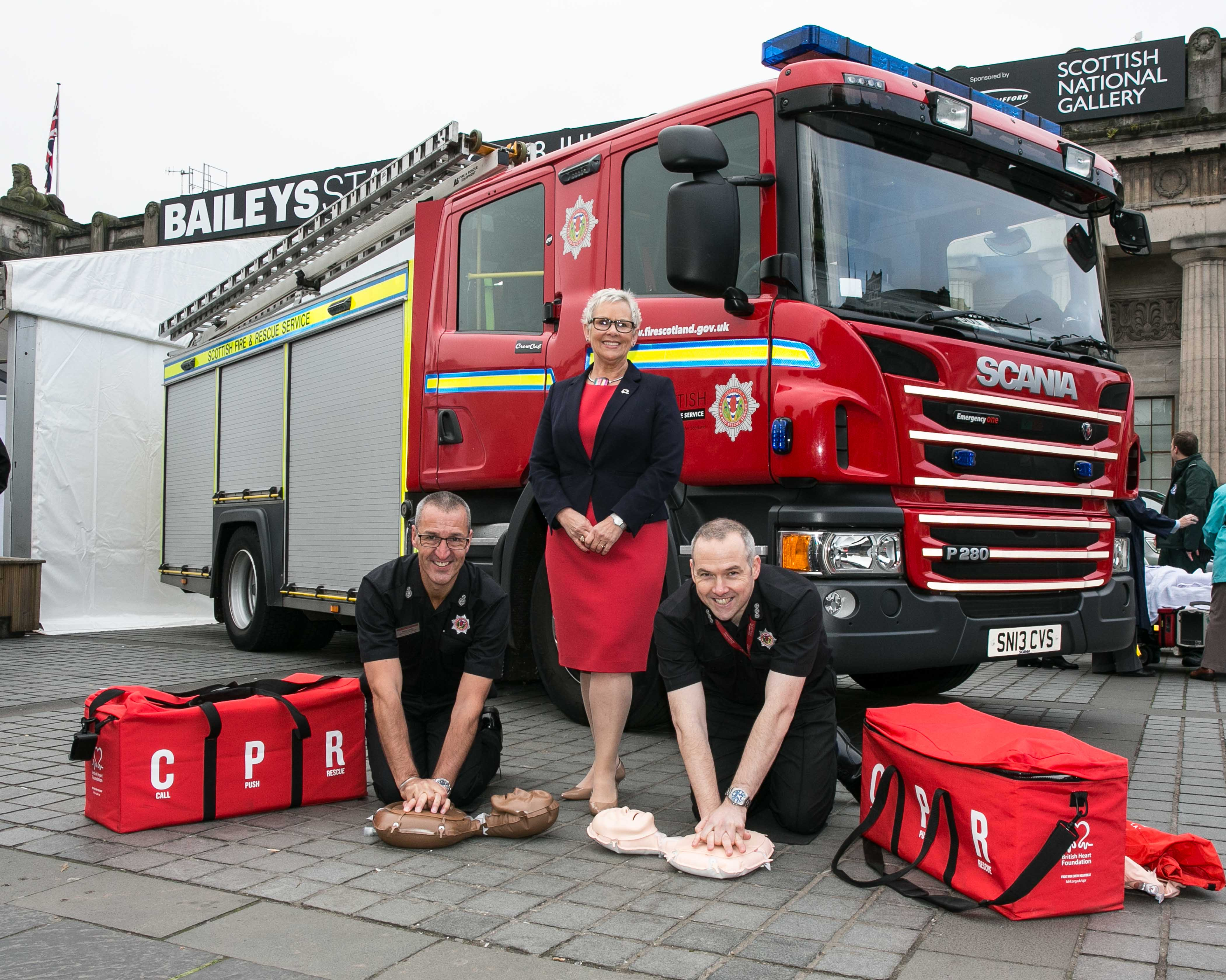Scottish Fire and Rescue Service and British Heart Foundation partnership aims to save lives