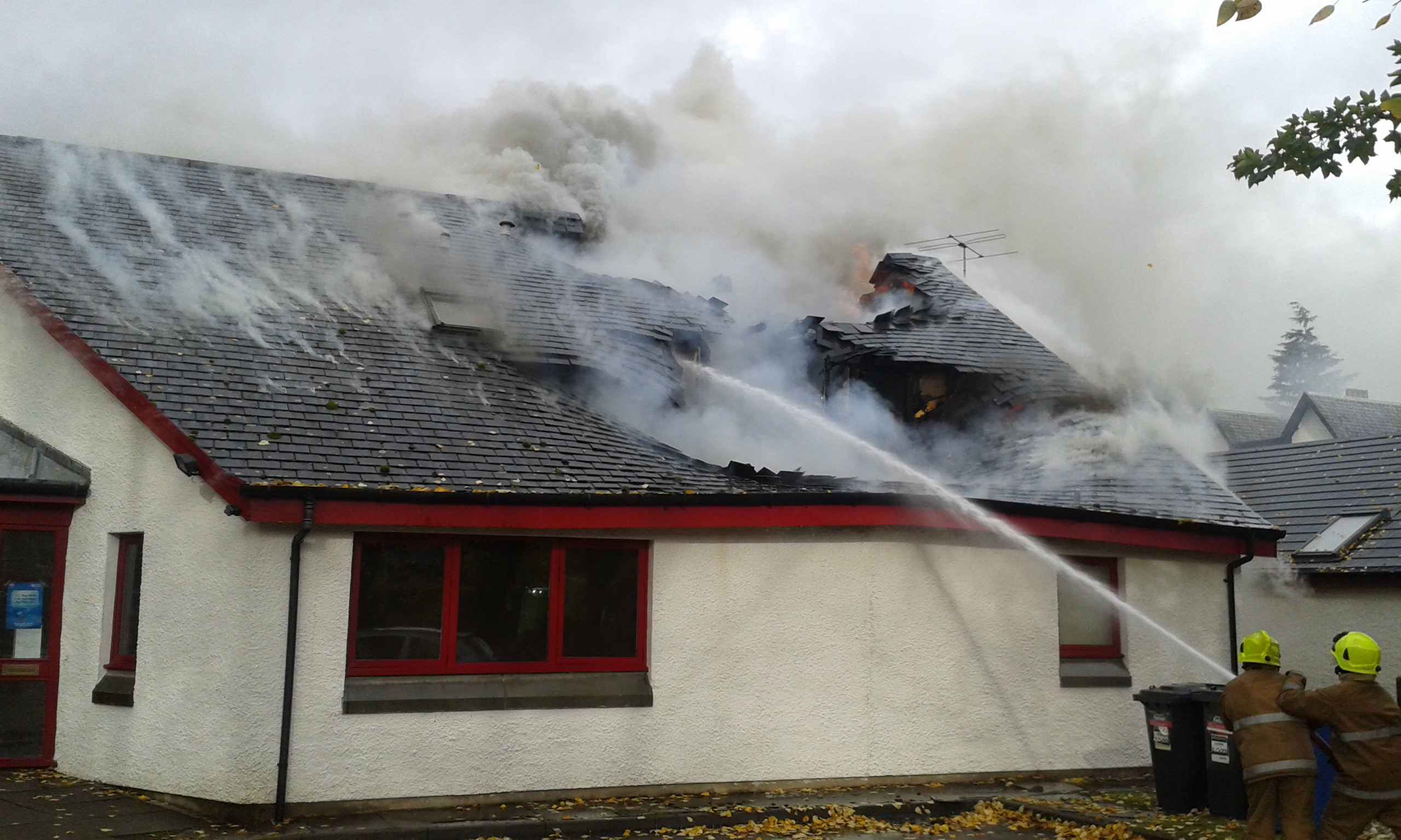 SFRS dealt with fire at Fort Augustus health centre