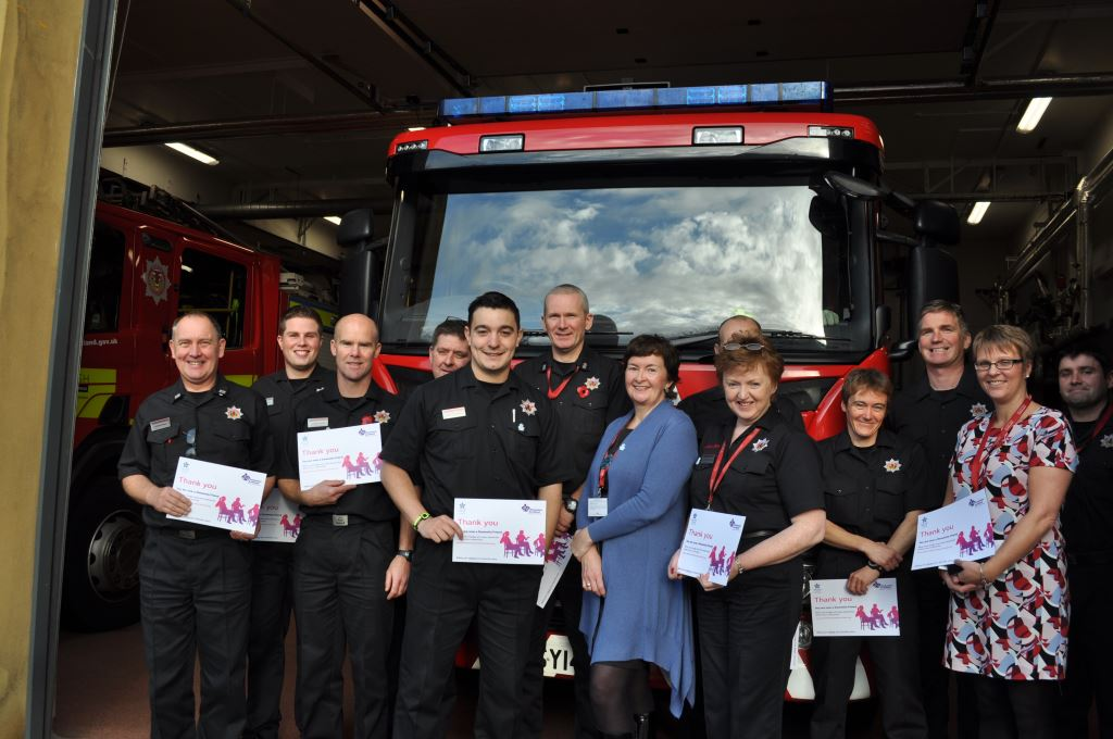Red Watch become Dementia Friends to support Dementia Friendly Inverness