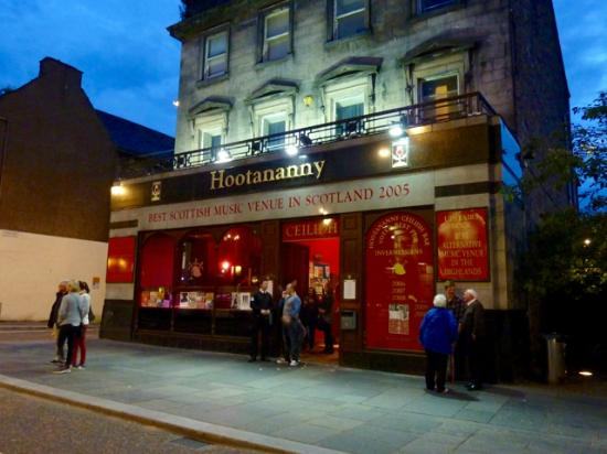 SFRS called following reports of explosion and fire at Hootananny bar in Inverness