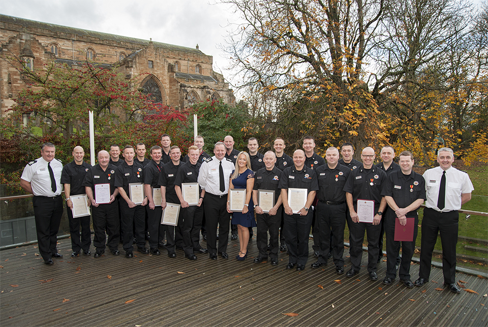SFRS staff receive Chief commendations and long service medals