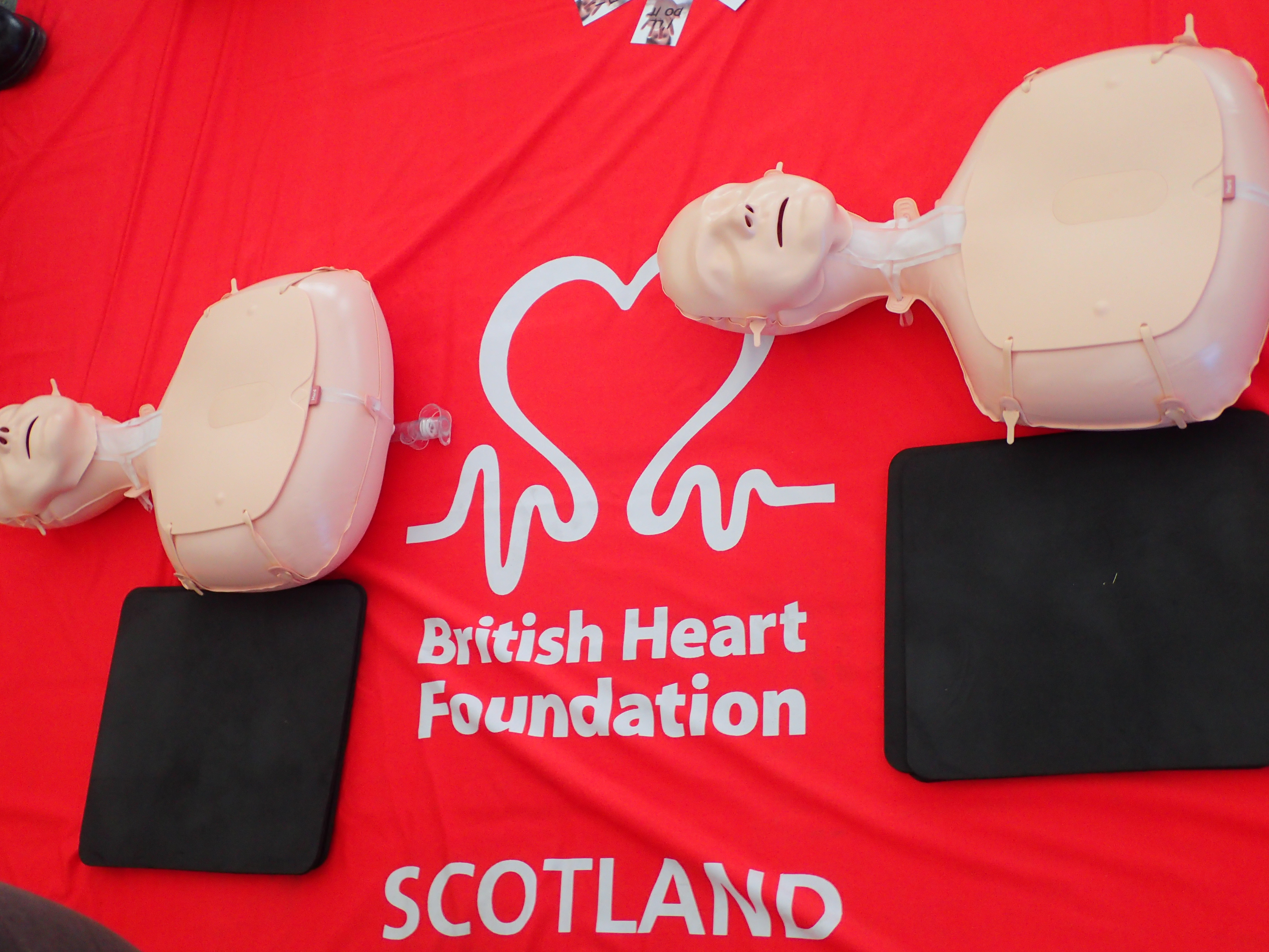 CPR events in East Lothian
