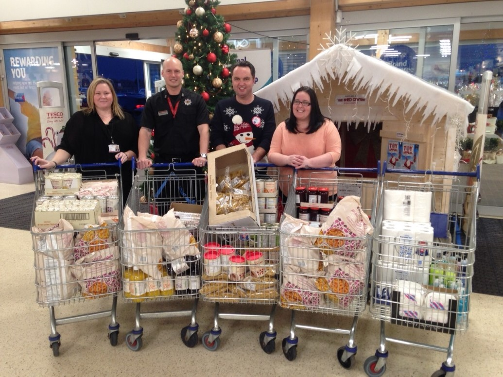 Falkirk firefighters help christmas appeal
