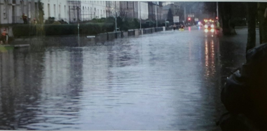 Crews currently dealing with flooding incidents in Tayside