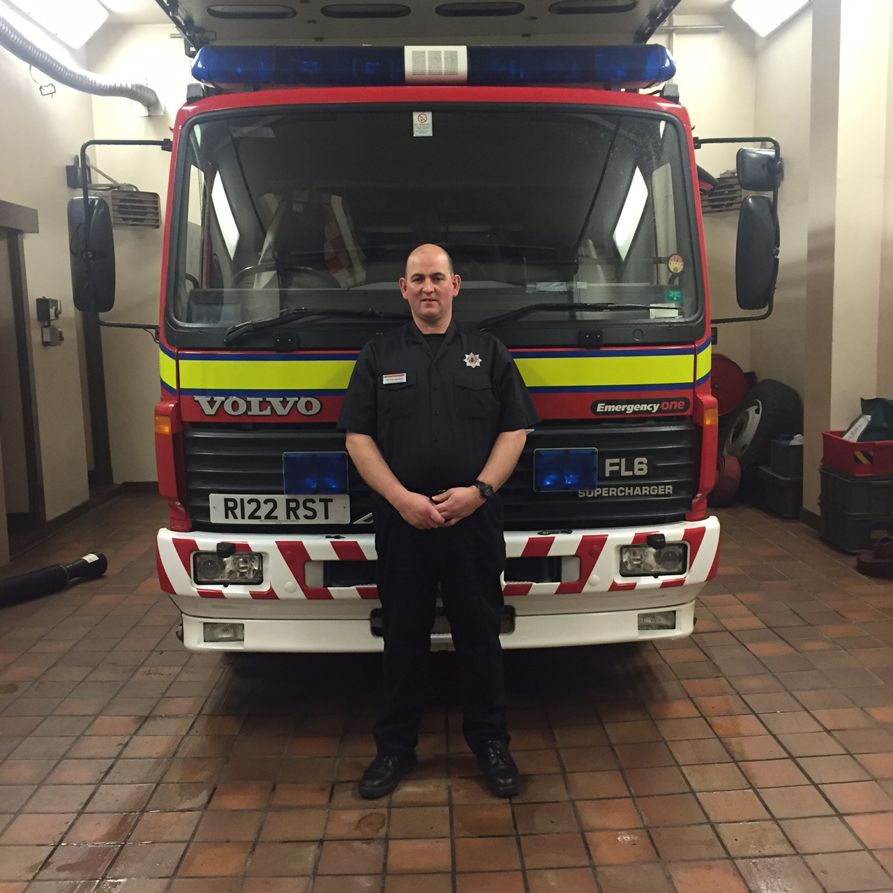 Retained firefighter's quick thinking and training helped save cardiac arrest man's life