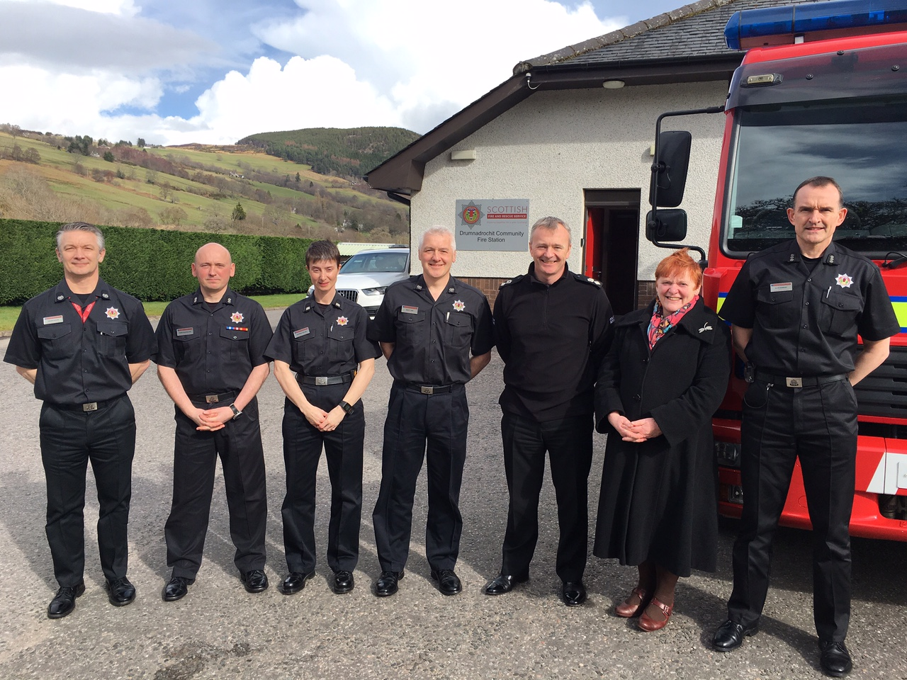 Fire stations in Highlands and Islands to be used as emergency hubs