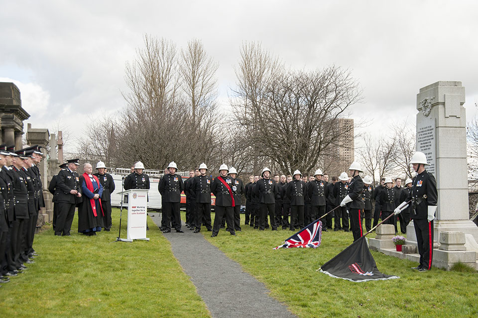 Firefighters remember colleagues killed in Cheapside Street disaster