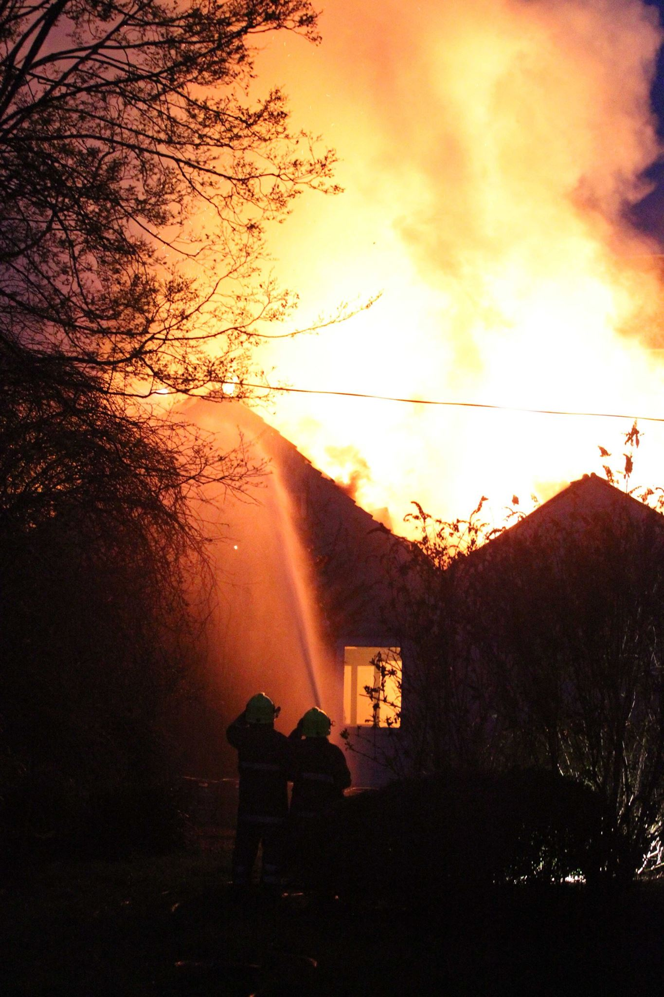 Firefighters work for over eight hours to tackle Kirkcudbright hotel blaze