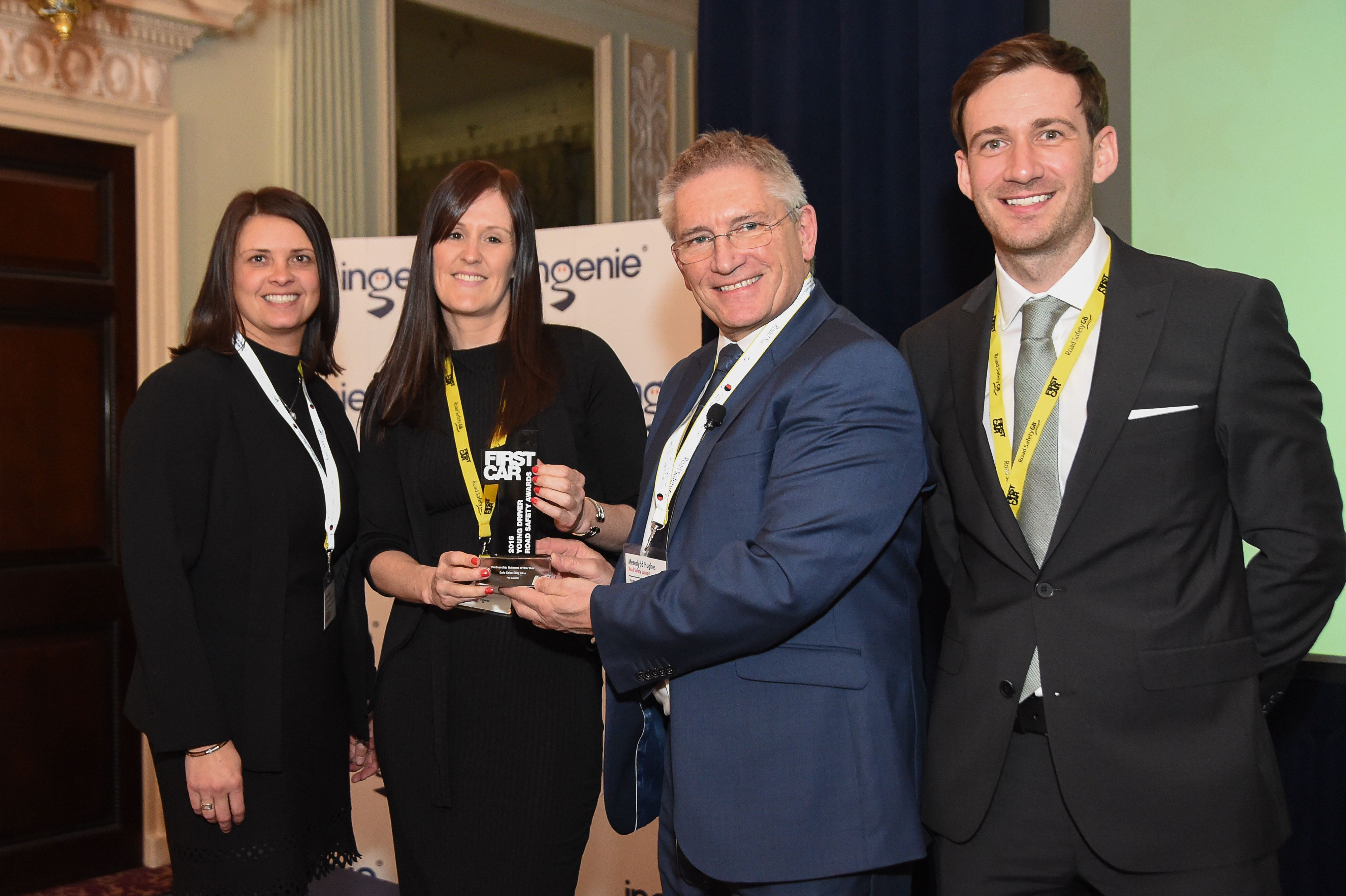 Safe Drive Stay Alive Fife wins Young Driver Road Safety Award