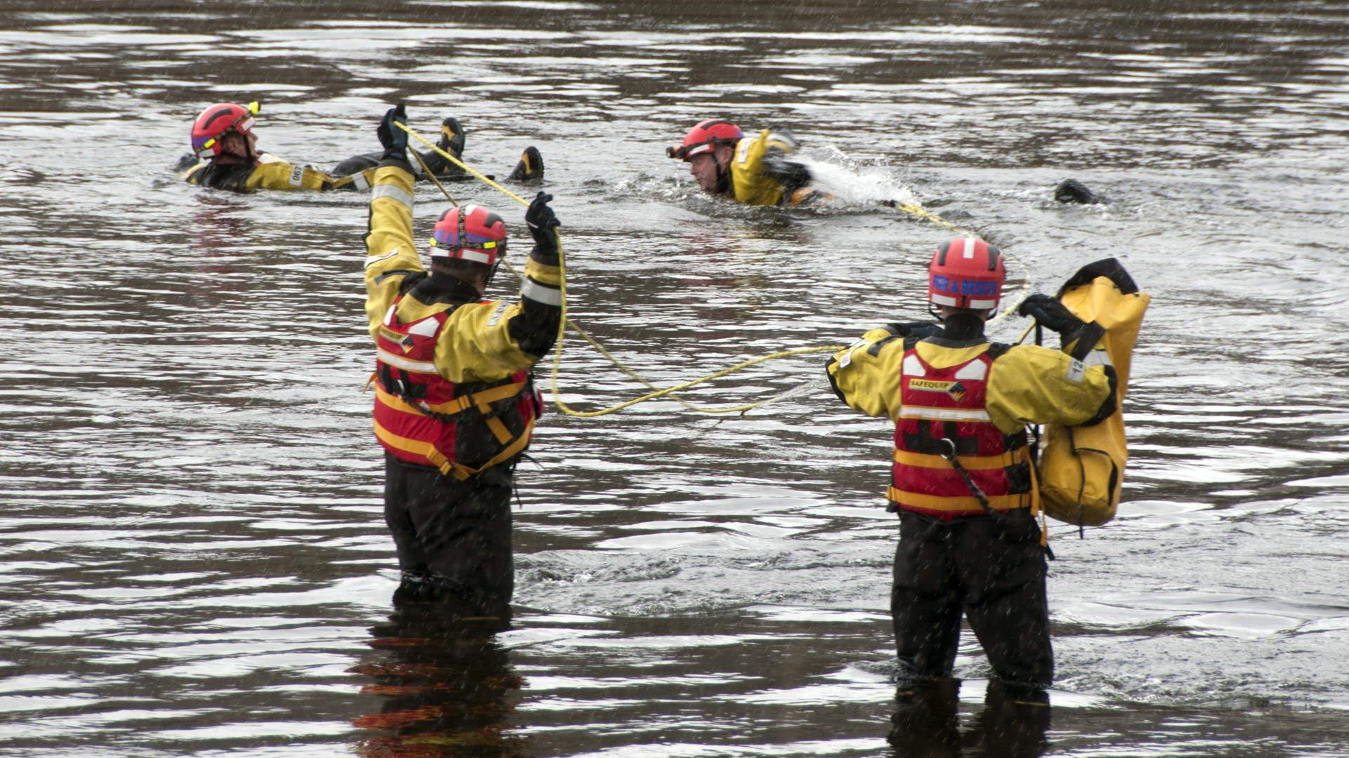 Firefighters rescue man from River Tay