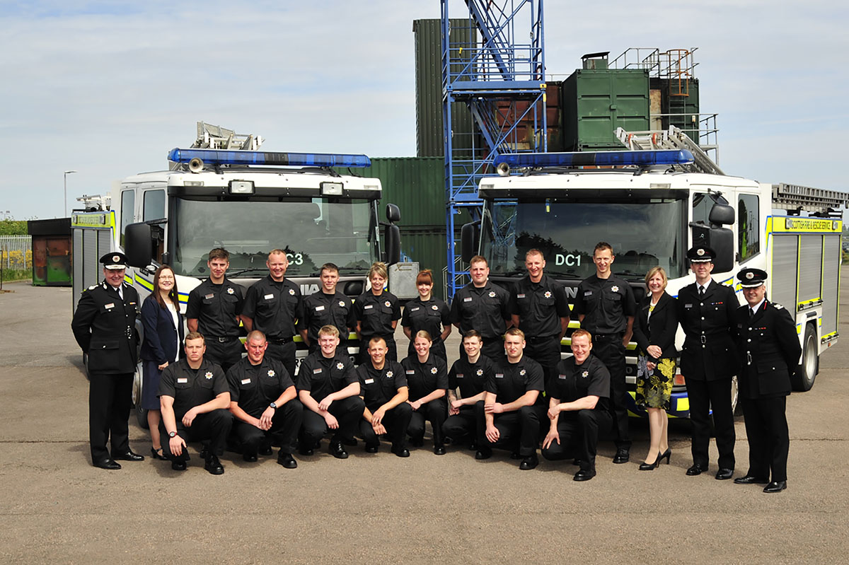 Scotland's newest firefighters prepare to protect the North
