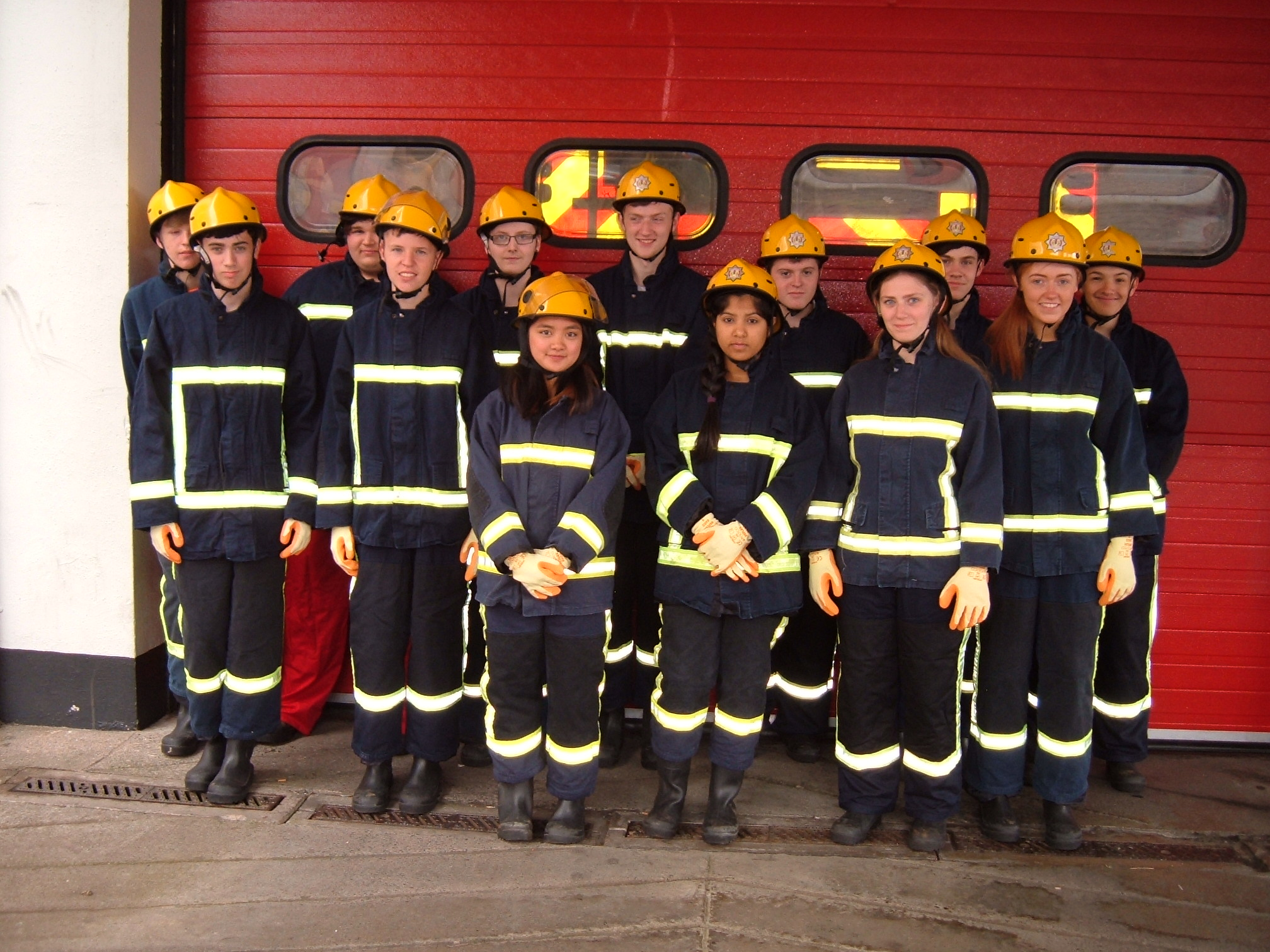 Paisley youngsters complete Firereach course