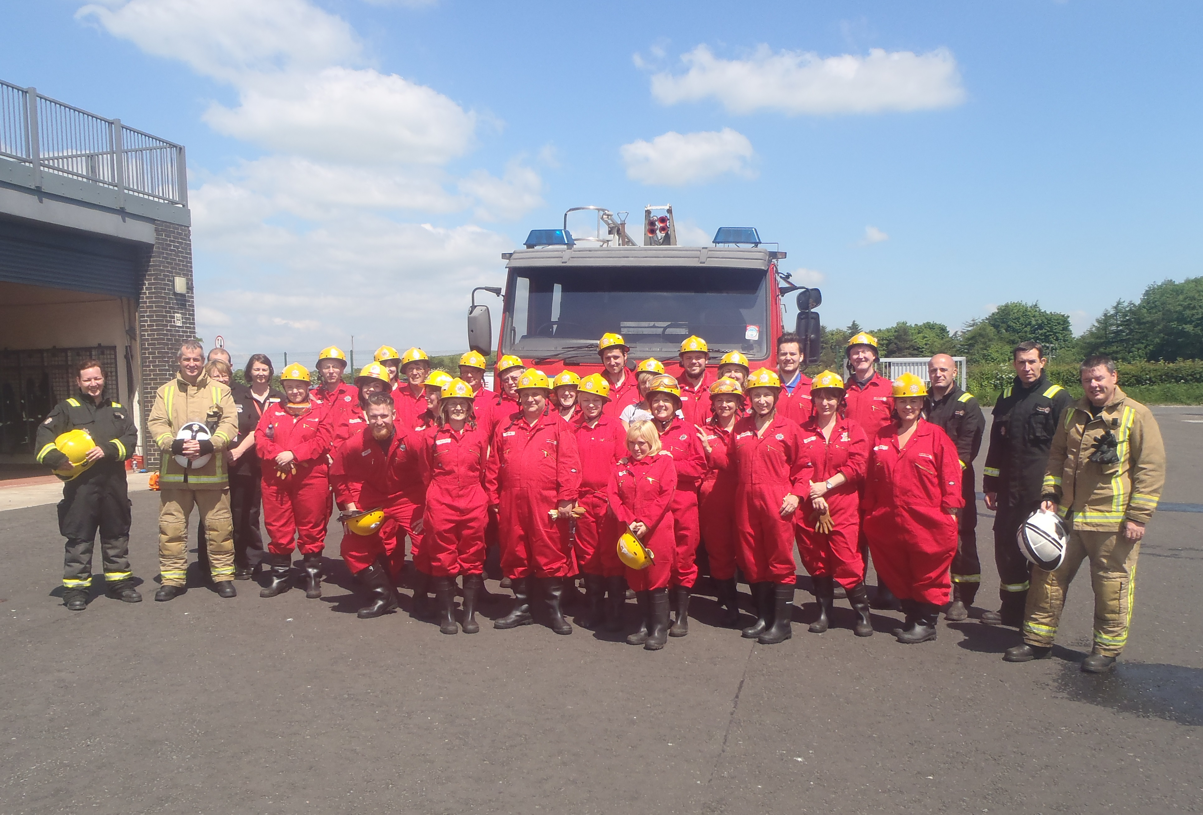 Ayrshire firefighters welcome volunteers in partnership initiative