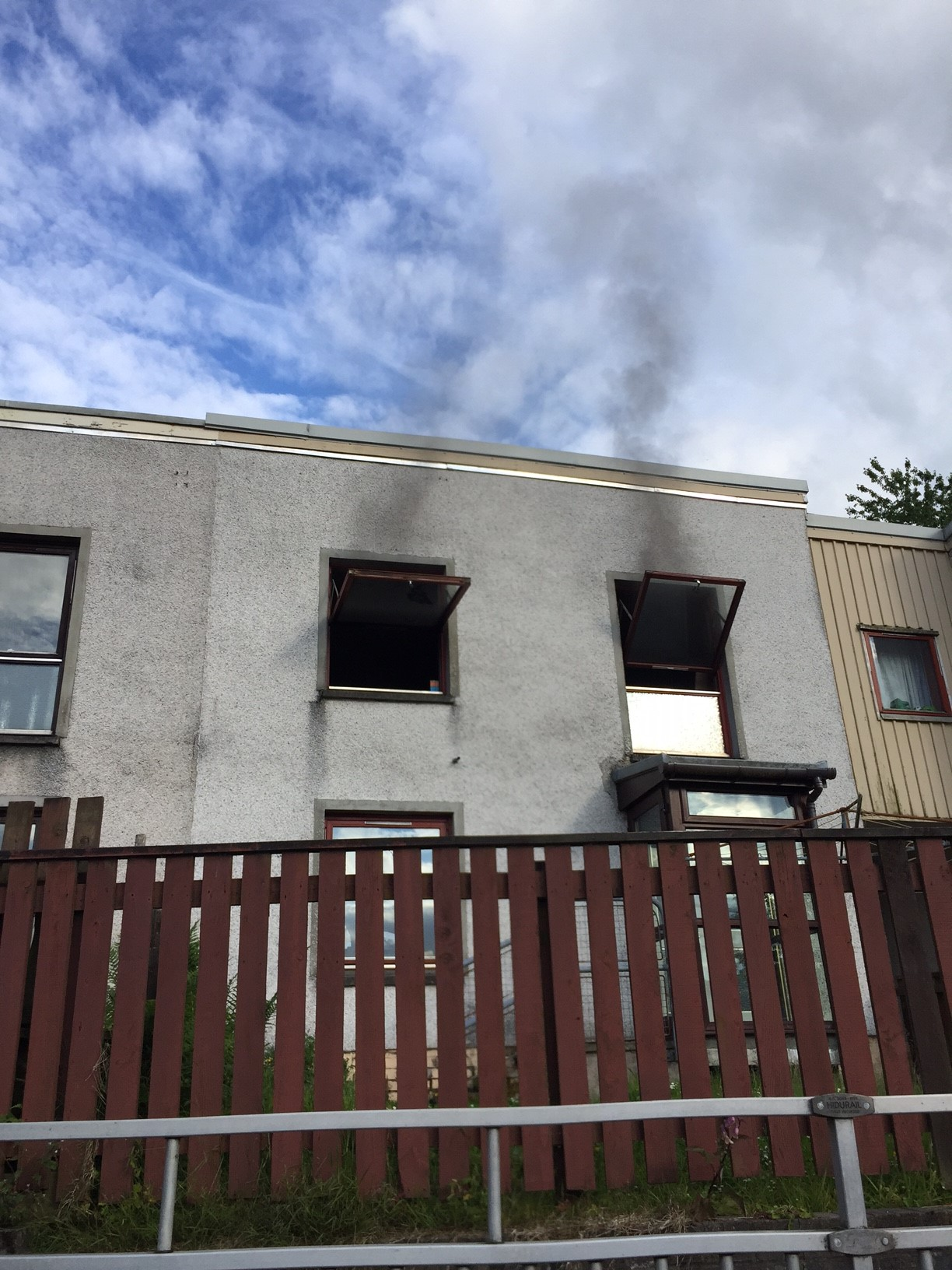 Firefighters put out house blaze in Fort William and protect surrounding homes