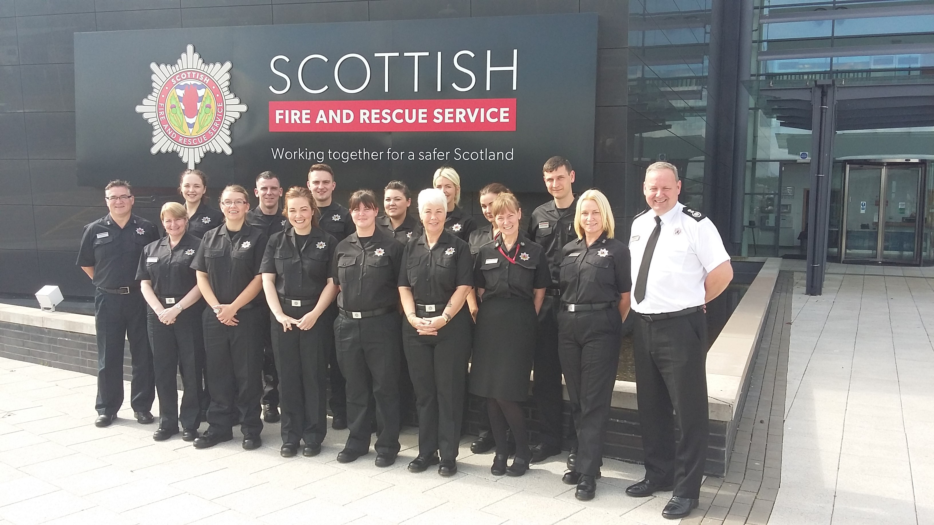 New control room recruits bolster Scottish Fire and Rescue Service emergency response