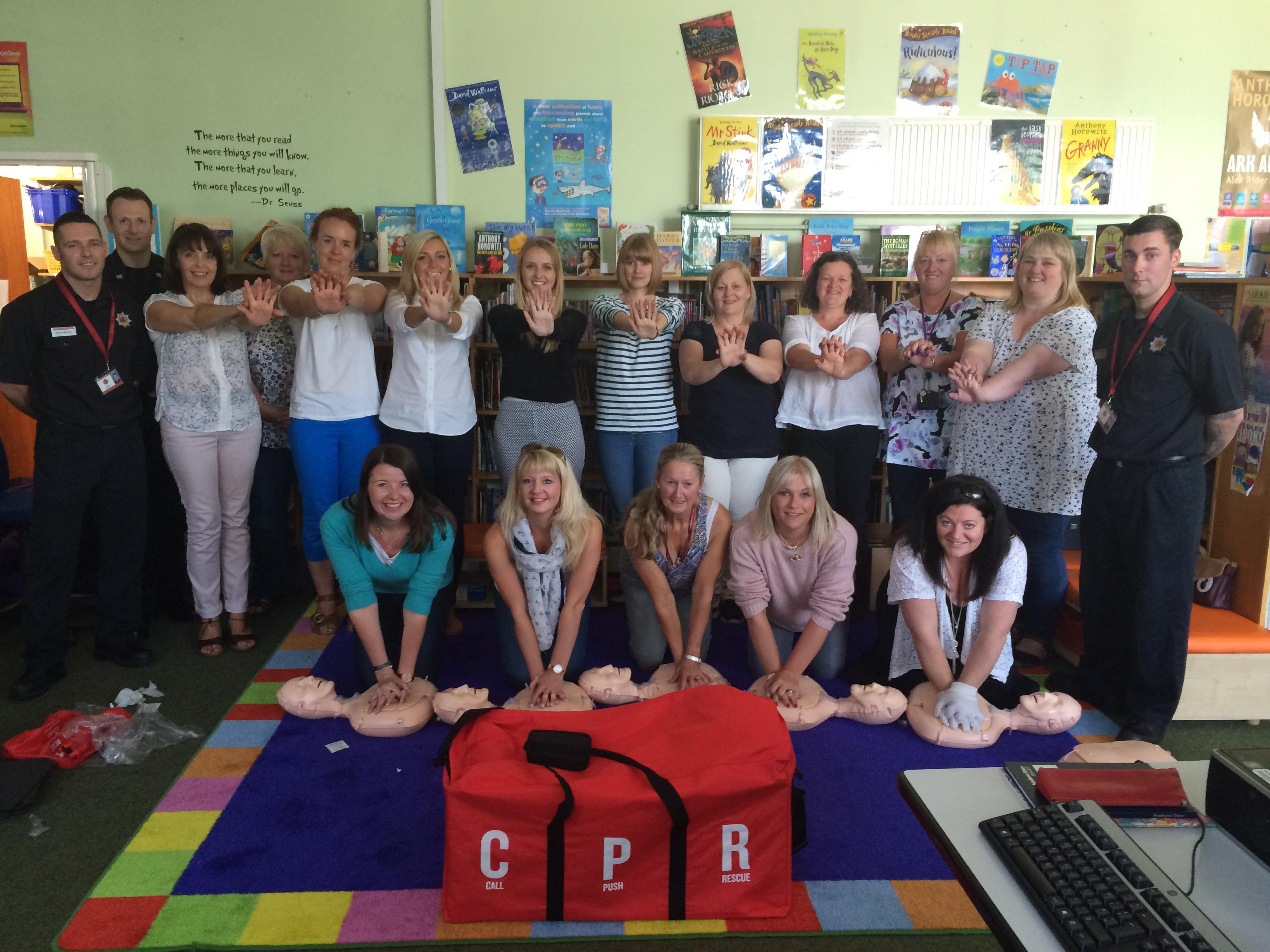 Markinch teachers learn valuable skill